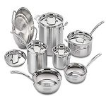 Cuisinart multiclad stainless-A healthy cookware