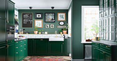 healthiest green kitchen